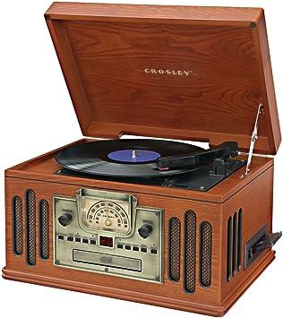 Amazon.com: Crosley cr74 Músico Entertainment Center ...