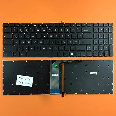 Teclado Compatible con MSI MS-1773, Color Negro, con ...