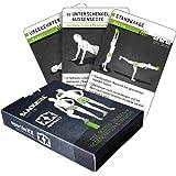 sportboXX Blackroll Trainingsplaner - Trainingskarten mit Übungen für Faszientraining, Regeneration und Stabilisation mit der Massagerolle