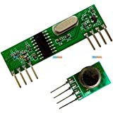 RF ASK module Wireless Transmitter + Receiver Pair 433 / 434 MHz KG204