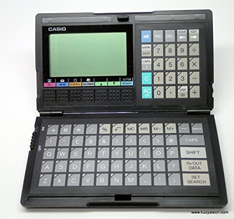 Vintage Diary Digital Casio SF-4000 32 KB RAM: Amazon.es ...