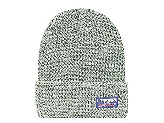 a64f25065d658c Amazon | X-girl エックスガール 2013 FES KNIT CAP ニットキャップ 灰 ...
