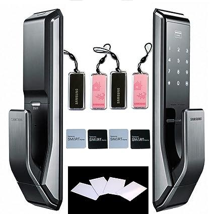 Push Pull innovación SAMSUNG SHS-P710 Touchpad sin llave cerradura de puerta Digital seguridad Ezon