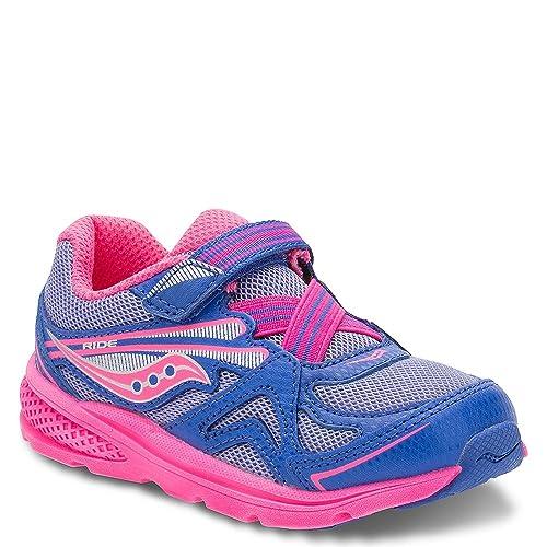 29643388 Saucony Girls' Baby Ride Sneaker (Toddler/Little Kid)
