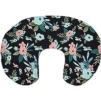 Nursing Pillow Cover, Breastfeeding Pillow Cover, Floral Nursing Pillow Cover, Girl Breastfeeding Pillow Slipcover…