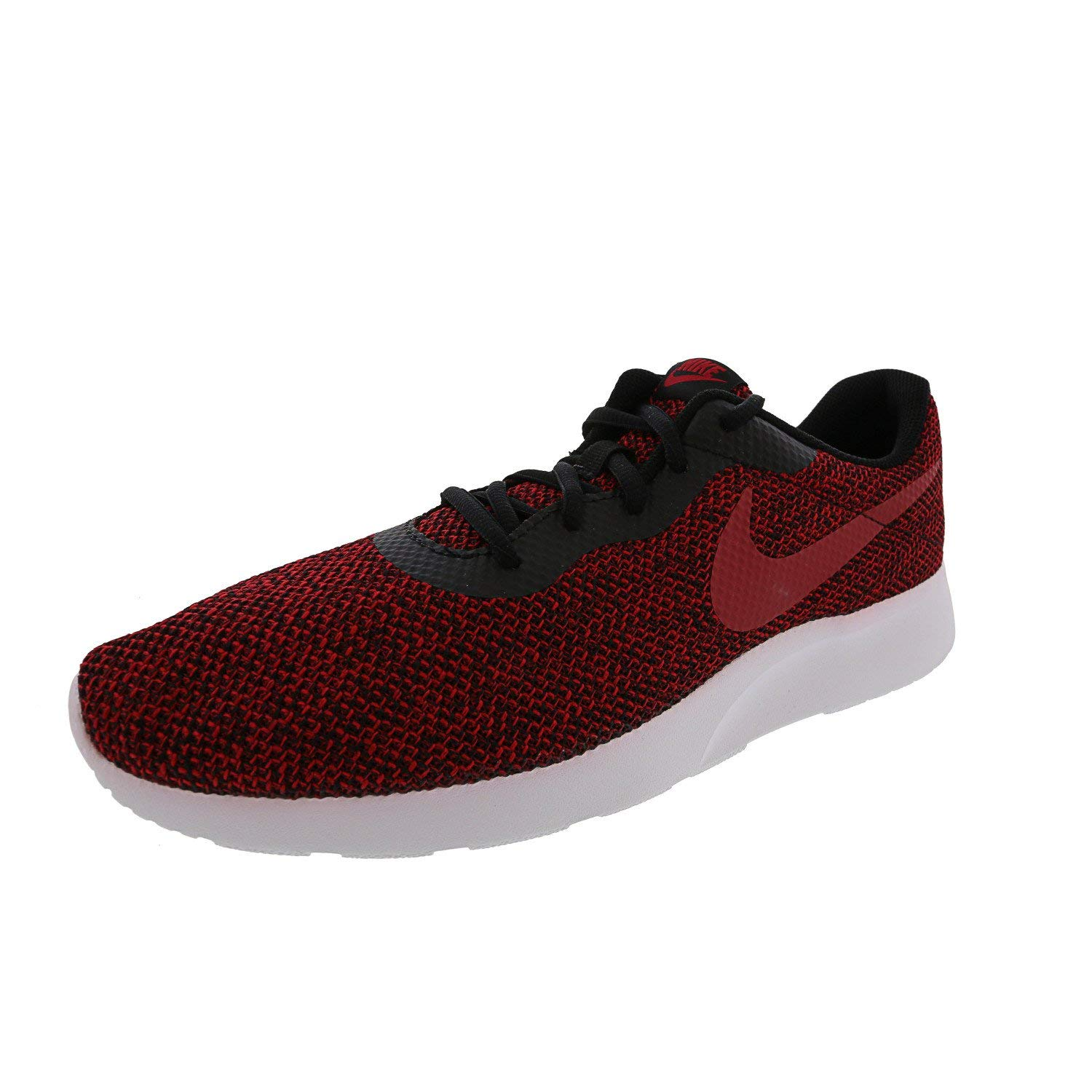 Nike AR1941-003: Men's Tanjun SE Black/Gym Red/White Running Shoe (10.5 D(M) US Men) by Nike