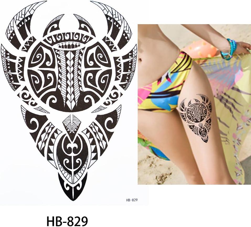 Tribal Tattoo Negro hb829 brazo tatuaje pegatinas Maorí y tribal ...