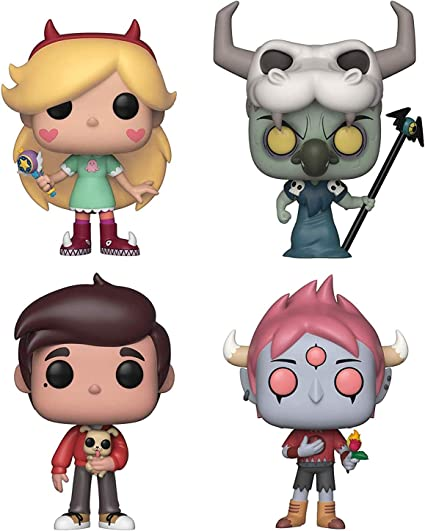 Pop Disney Star Vs The Forces Of Evil Juego De 4 Piezas De Estrellas Marco Lugo Y Tom Toys Games
