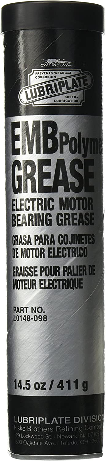 B000P1IGGO Lubriplate L0148-098 Off-White ISO-9001 Registered Quality System, ISO-21469 Compliant 100 cSt Electric Motor Bearing Grease (Pack of 10) 71AG0aRul6L