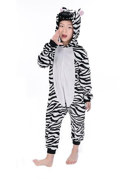 Heekpek® Pijama Animal Entero Unisex con Capucha Ropa de Dormir Traje de Disfraz para Festival