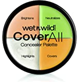 Wet n Wild 4 Colores Coverall Concealer Palette Maquillajes - 1 unidad