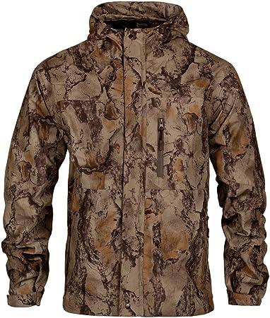Amazon.com: Chaqueta de caza de camuflaje natural para ...