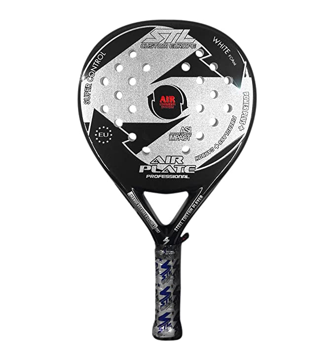Steel Custom Europe Air Plate-16 Pala de pádel, Unisex Adulto ...