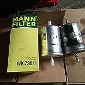 3x MANN KRAFTSTOFFFILTER WK 730//1