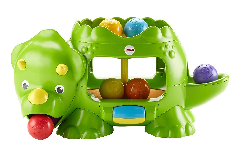 Fisher-Price DHW03 Kugelspaß Dino Motorikspielzeug mit Geräuschen und Musik, ab 6 Monaten Mattel GmbH