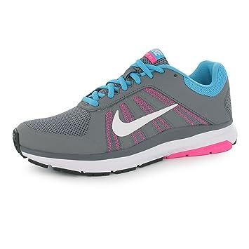Nike Dart 12 Zapatillas de Running para Mujer Gris/Blanco Run Fitness Zapatillas Zapatillas, Gris/Blanco: Amazon.es: Deportes y aire libre