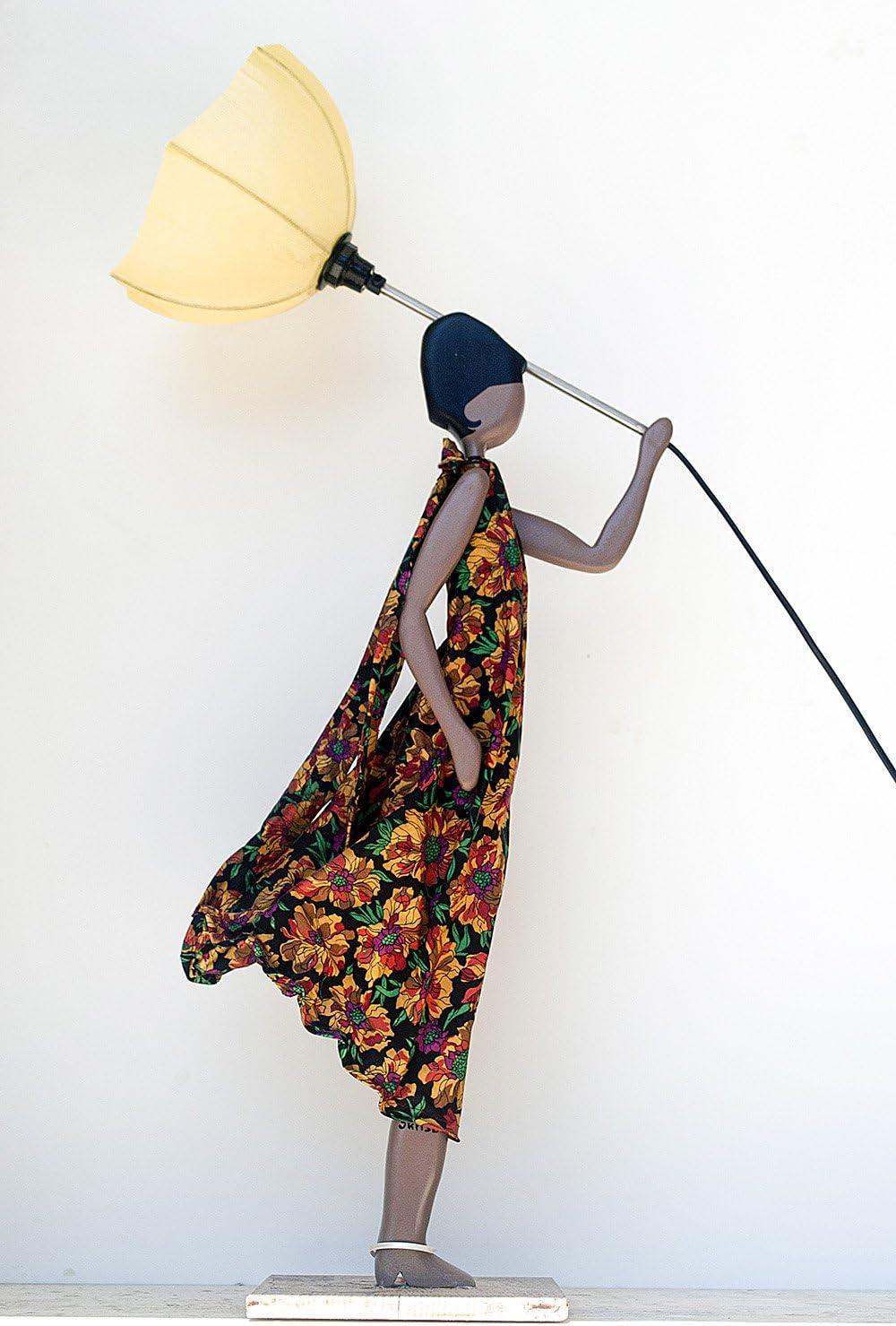 Skitso Design Luxus Lampe Figur Vanesa Stehlampe Mit Schirm Frau
