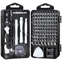Precision Screwdriver Set,117 in 1 Magnetic Repair Tool Kit for iPhone Series/Mac/iPad/Tablet/Laptop/Xbox Series/PS3/PS4/Nintendo Switch/Eyeglasses/Watch/Cellphone/PC/Camera/Electronic