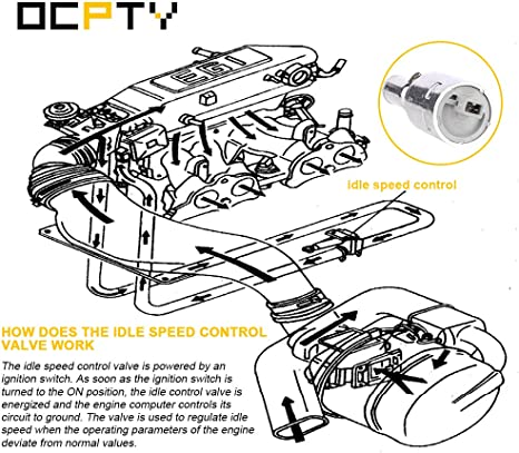 Amazon.com: OCPTY 2H1296 Fuel Injection New Idle Air Control ... on volvo s80 wiring-diagram, volvo fuel pump wiring diagram, volvo 740 fuel system, volvo 740 starter, volvo 240 wiring diagrams, volvo 740 troubleshooting, volvo 740 blueprints, volvo 740 parts, volvo b200e wiring diagrams, volvo 960 wiring diagrams, volvo penta 4.3 wiring-diagram, volvo 850 wiring-diagram, volvo 740 brakes, volvo 740 engine, volvo 740 chassis, volvo 740 specs, volvo penta ignition wiring diagrams, volvo semi truck wiring diagram, volvo 740 charging system, volvo 740 rear suspension,