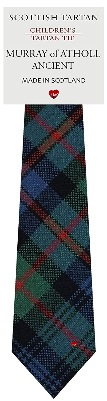 Boys Clan Tie All Wool Woven in Scotland Murray of Atholl Ancient Tartan I Luv Ltd