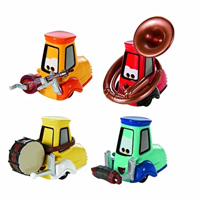 2013 Disney Pixar Cars Uncle Topolino's Band - Festival Italiano: Toys & Games