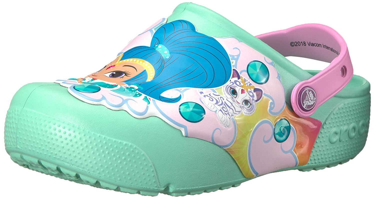 Crocs Kids' Fun Lab Shimmer & Shine Light-Up Clog