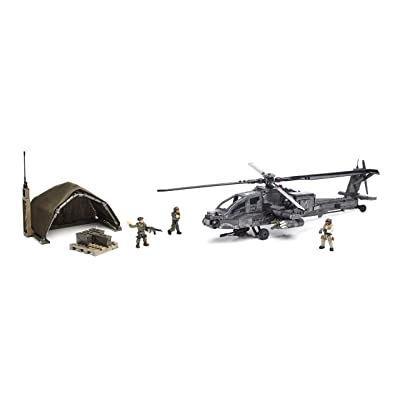 Mega Bloks Call of Duty Anti-Armor Helicopter Collector Construction Set: Toys & Games