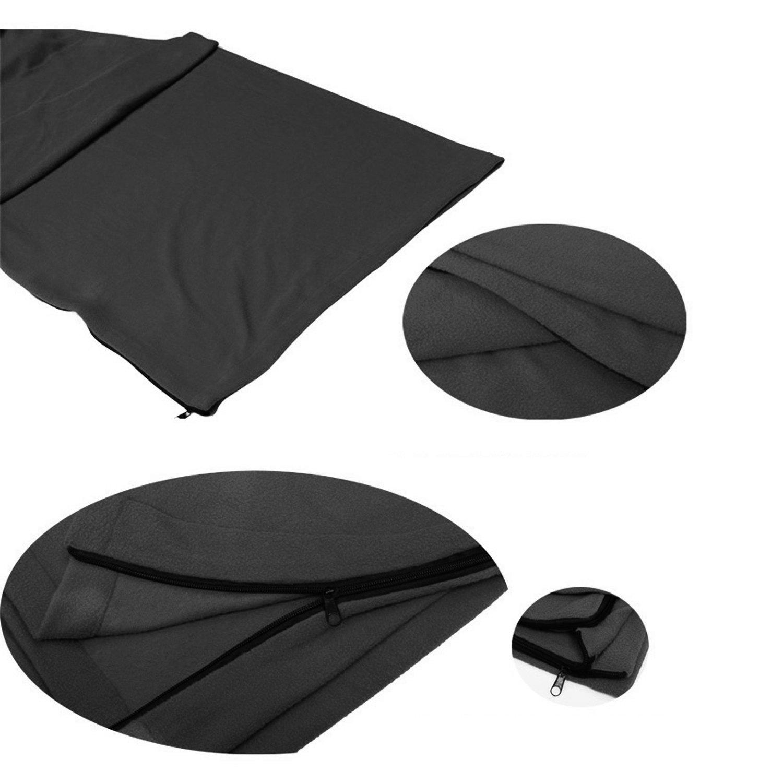 Grenhaven saco de dormir forro polar invierno s/ábana de dormir viaje sleeping bag