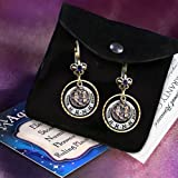Aries Zodiac Sign Astrology Earrings - March and