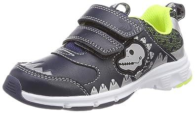 d9b9506d Amazon.com | CLARKS Boys' Pass Rex Inf Low-Top Sneakers, Blue (Navy ...