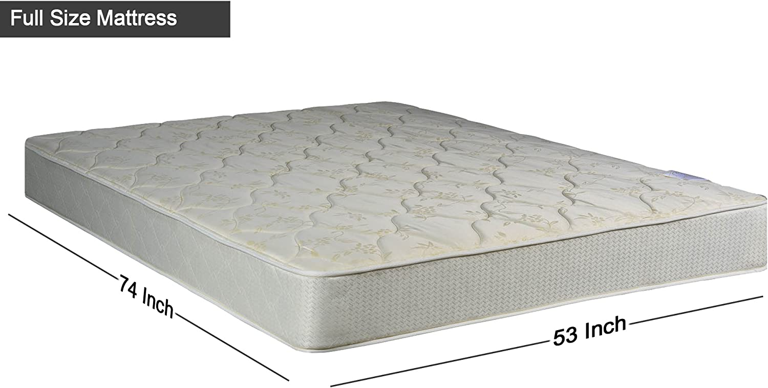 No Assembly Required Beige Continental Sleep 1000-3//3XL-2S 9 Gentle firm Innerspring Tight Top Mattress and Split Traditional Box Spring//foundation set Twin XL