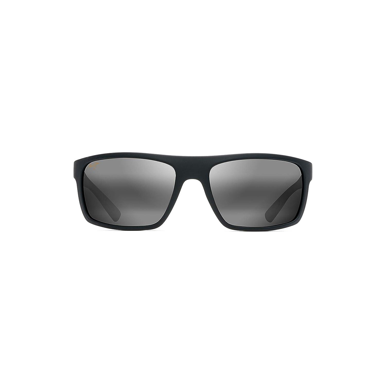 New Women Sunglasses Maui Jim Byron Bay Polarized 746-02MR B071Z2V63G ブラック  ブラック 62 ミリメートル