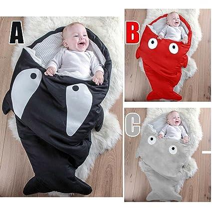 FRESCO DUENDES bebé del saco de dormir, dormir tiburón Bolsas, niños primavera, otoño