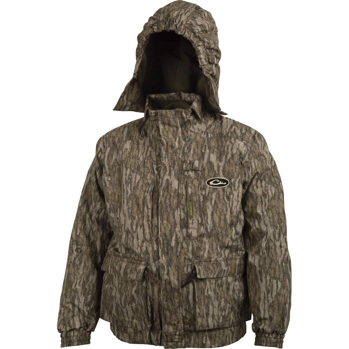 Drake Young Guns Youth 3-N-1 Jacket 10 Mossy Oak Bottomland by Drake