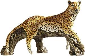 Design Toscano HF307536 Leopard's Kingdom Garden Statue,Full Color