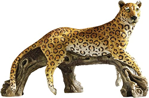 Design Toscano HF307536 Leopard's Kingdom Garden Statue,Full Color