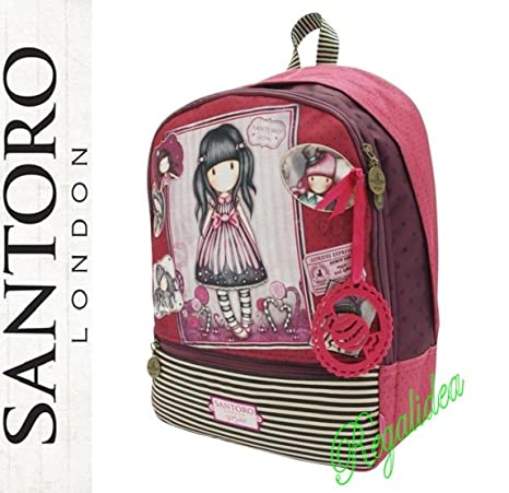 8f44b68b76a672 ZAINO SCUOLA Double Gorjuss The Scarf SANTORO LONDON fucsia rosa 2017/2018