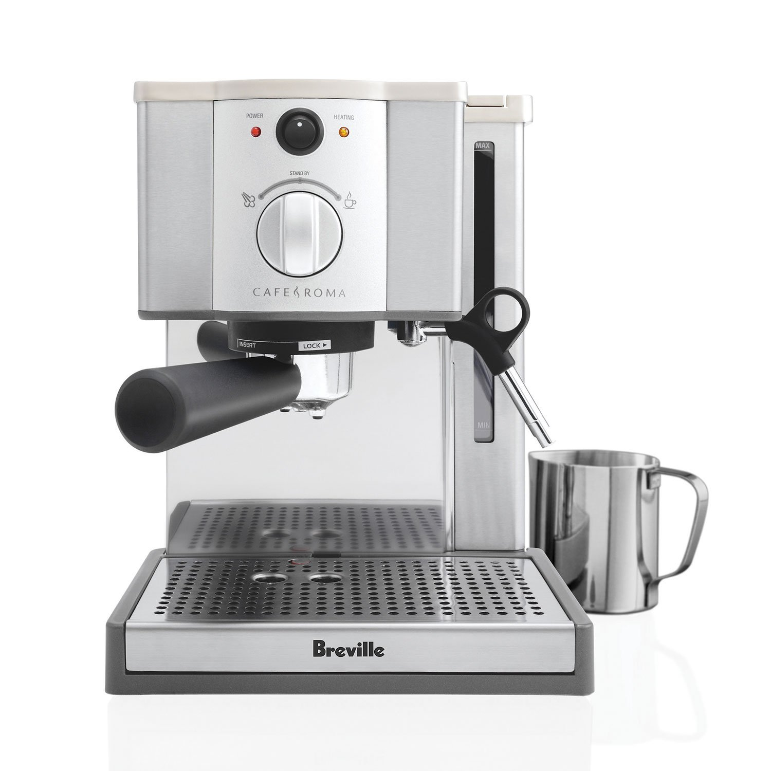 the bay delonghi 15 bar cappuccino and pump espresso machine with free grinder. Black Bedroom Furniture Sets. Home Design Ideas