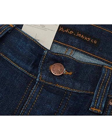 Nudie Jeans Grim Tim Slim Regular Fit Jeans 32R Crispy ...