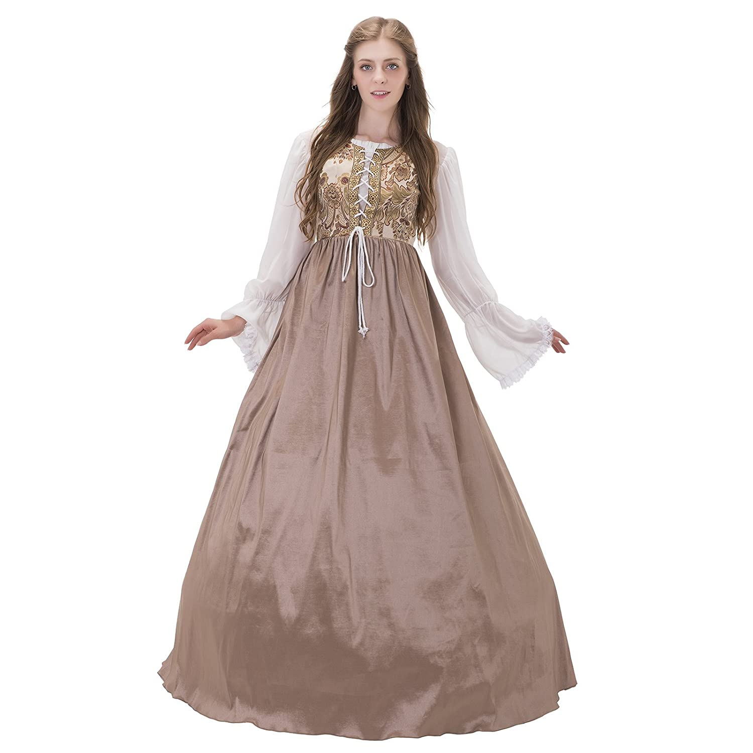 Women's Medieval Period Dress and Gown Costumes | Deluxe ...