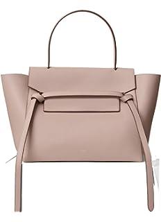 Celine Nano Belt Bag In Grained Calfskin Black Handbags Amazon Com