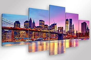 Rahmen moderne new york skyline u stück cm druck auf