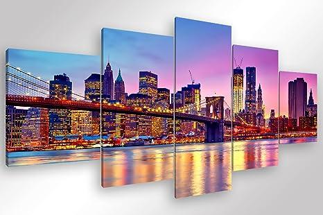 Degona quadro moderno new york skyline pz cm stampa su