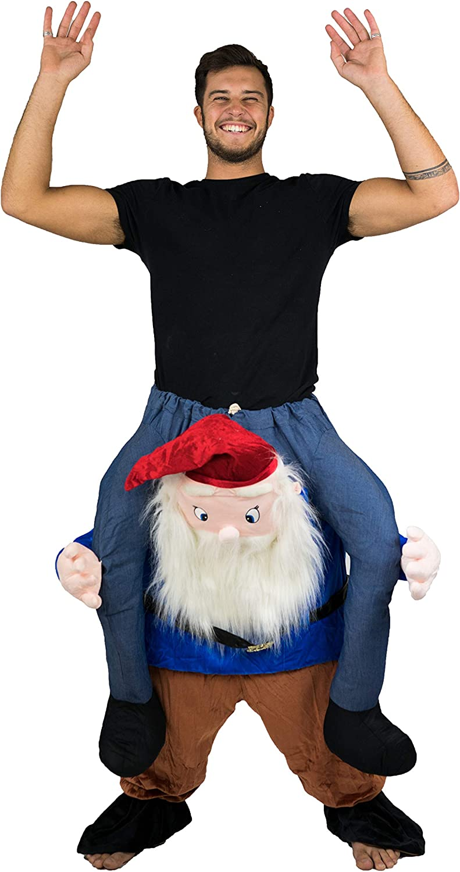 Bodysocks® Disfraz a Hombros (Carry Me) de Gnomo para Adulto