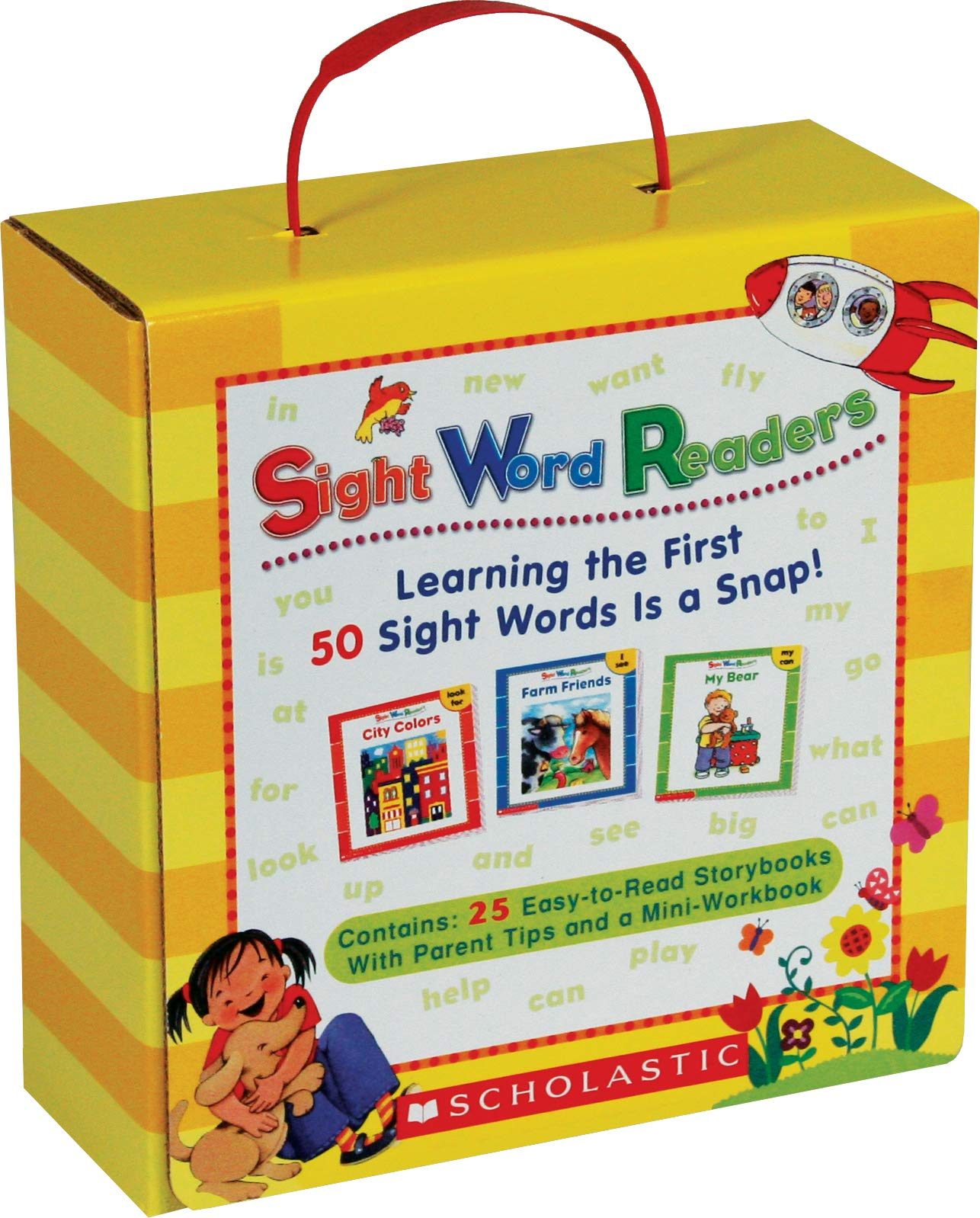 Sight Word Readers Parent Pack: Learning the First 50 Sight Words s a Snap! by Scholastic