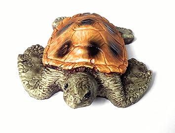 Nicepets - Decoración acuario pecera y terrario de resina adorno galapago tortuga: Amazon.es: Productos para mascotas