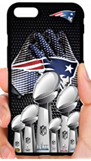 ffa256b72 Patriots Gloves 6 X Champs Gathered Group Super Bowl Trophies Football  Phone Case Cover - Select
