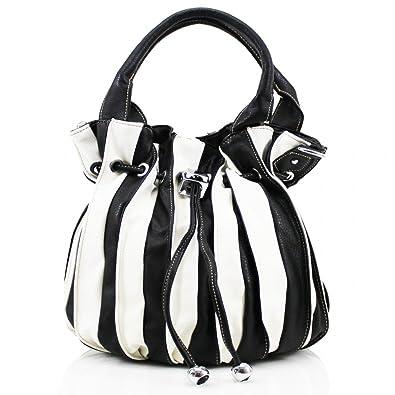 1ebc994c4ff6 Ladies Faux Leather Multicolor Mini Grab Bag Women Shoulder Tote Satchel  Handbag New White