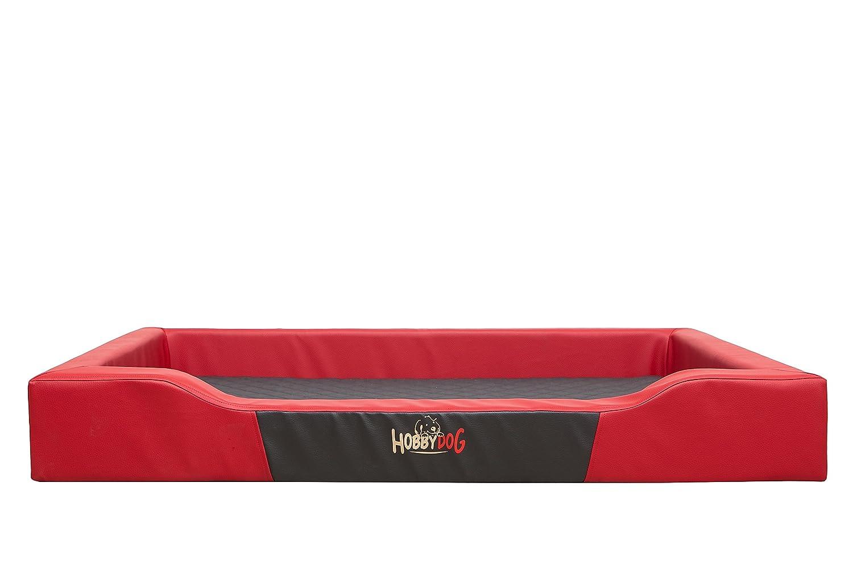 Hobbydog XL Cuccia per Cani in Cordura Colore: Rosso