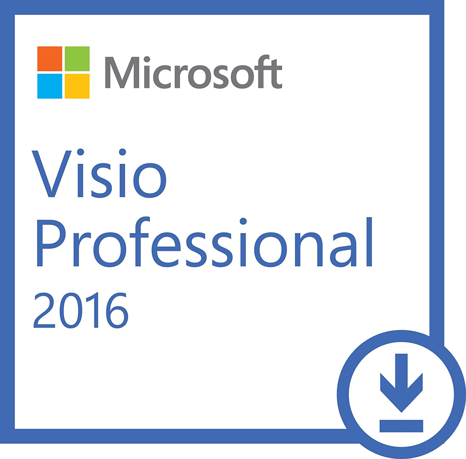 amazoncom microsoft visio professional 2016 pc download software - Download Microsoft Visio Free Trial